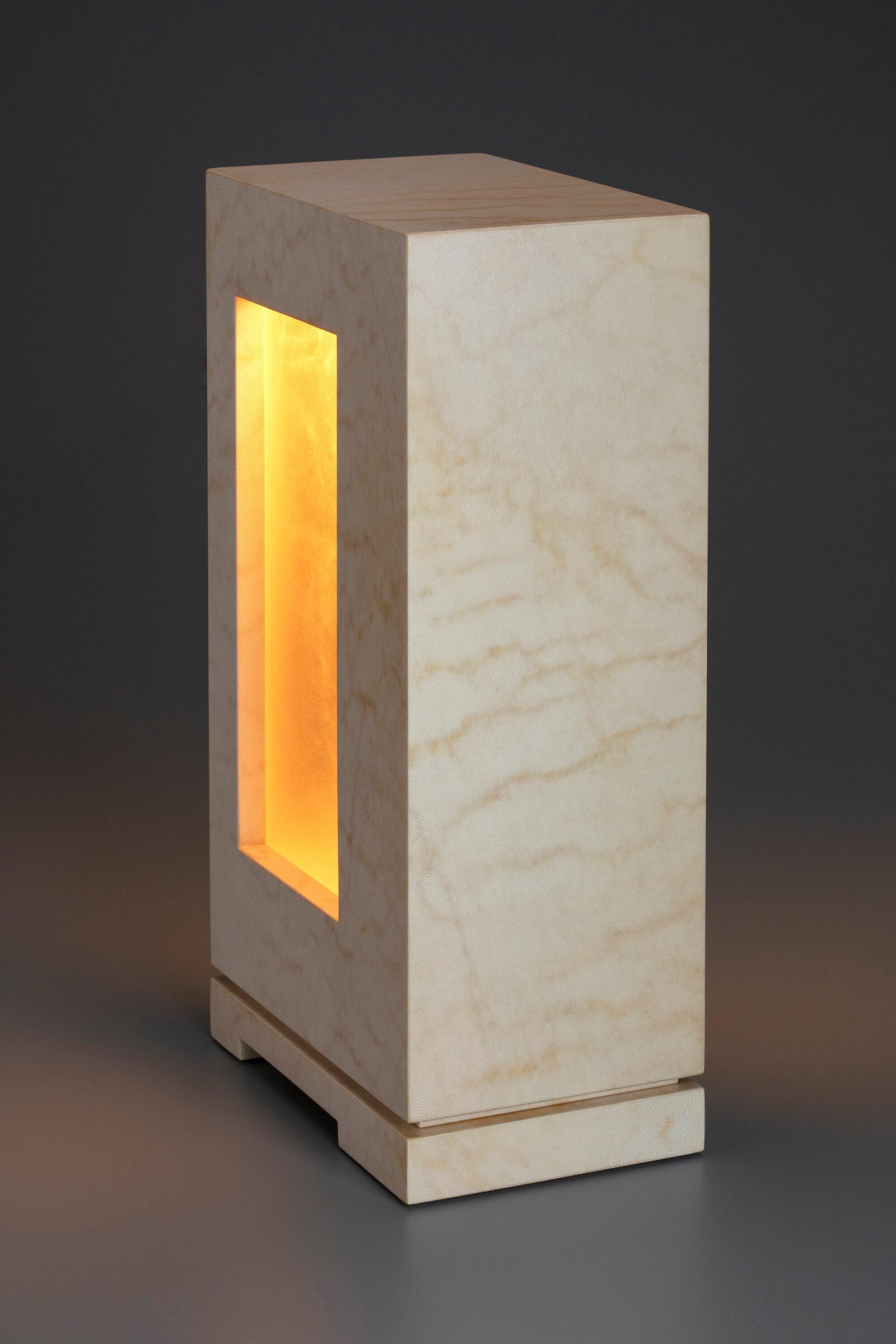 Lambskin Parchment Accent Lamp