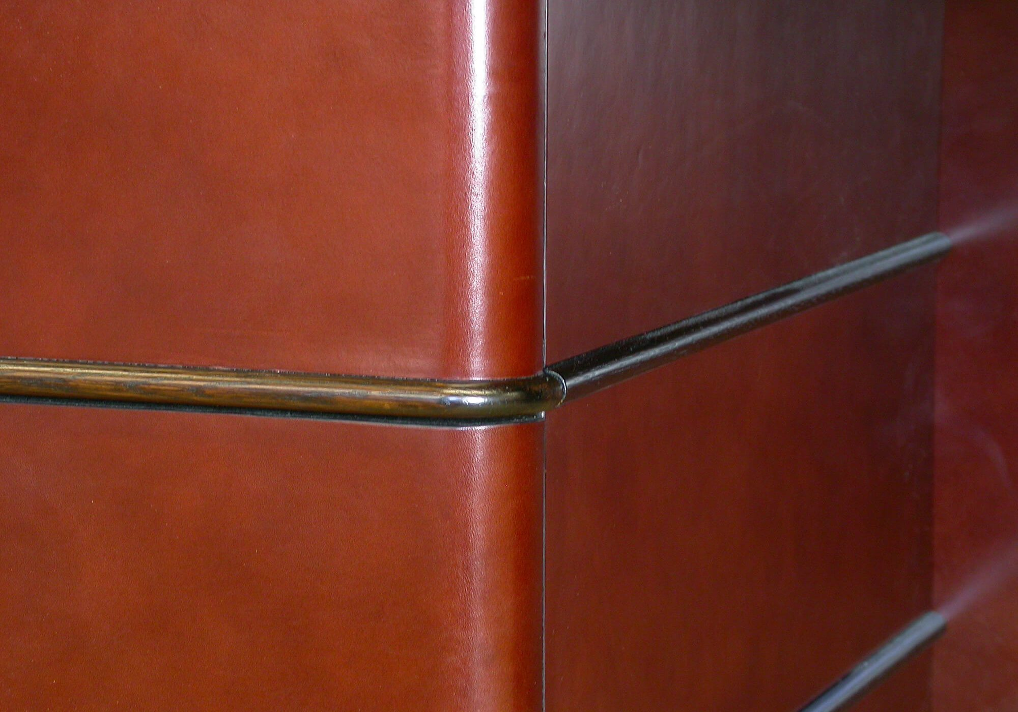 Credenza Knee Well