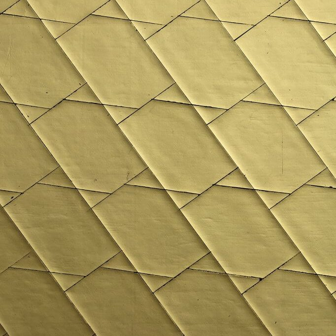 GIlded Cracked Gesso